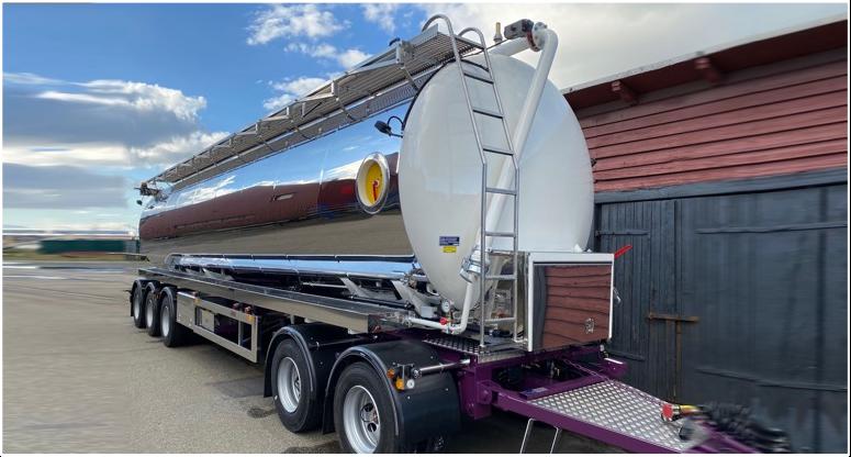 Lättarbetade tankfordon för miljö- och slamtransporter